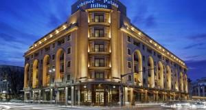 מלון הילטון בערב בוקרשט