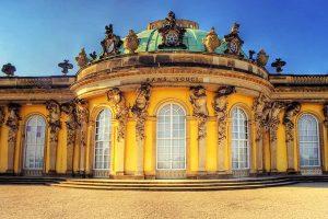 """ארמון של המלך פרידריך """"סן סוסי"""""""