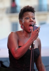 China Moses nice jazz festival ( fille de dee dee bridgewater)