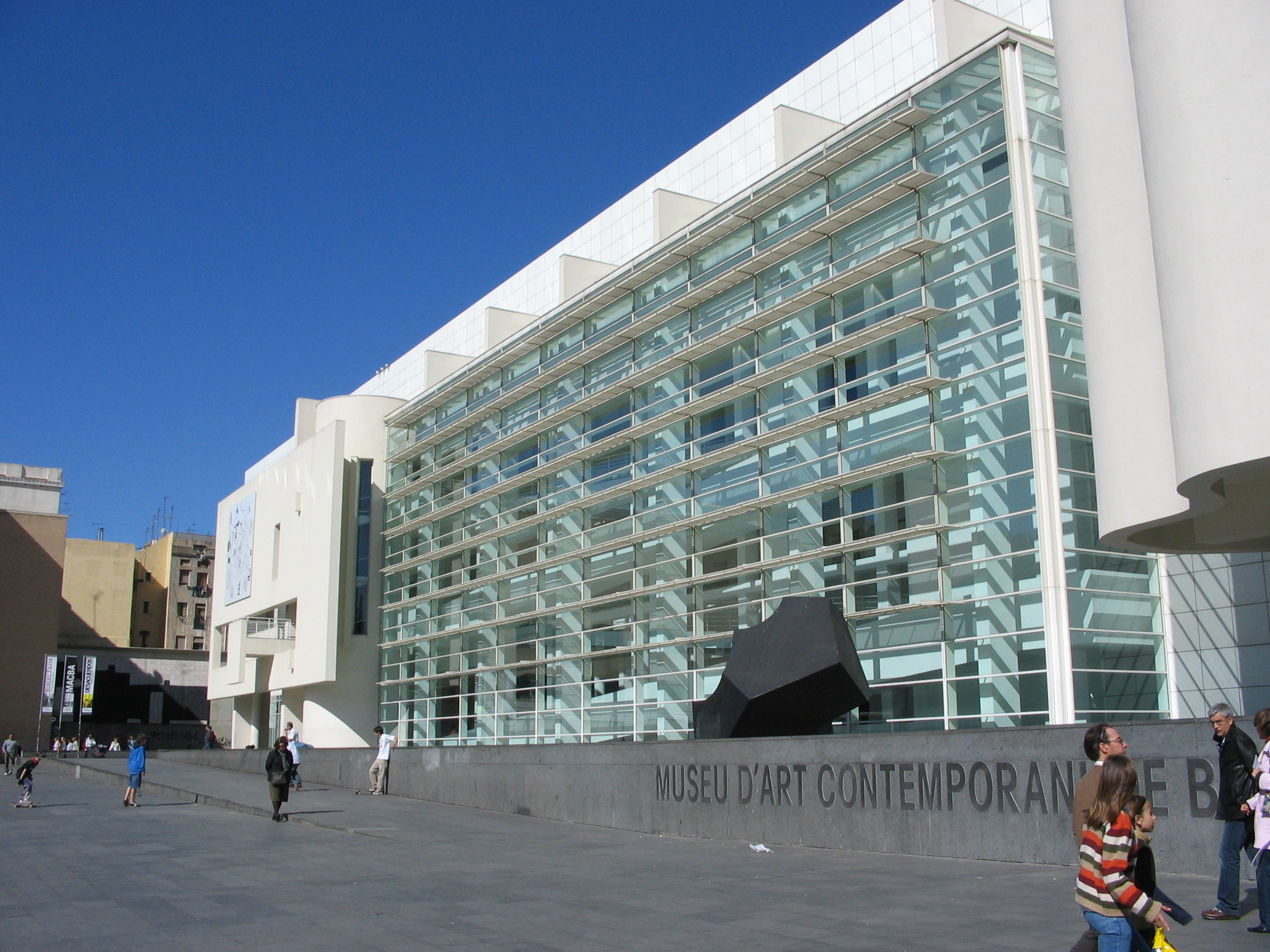Barcelona Museum of Contemporary Art- Richard Meier