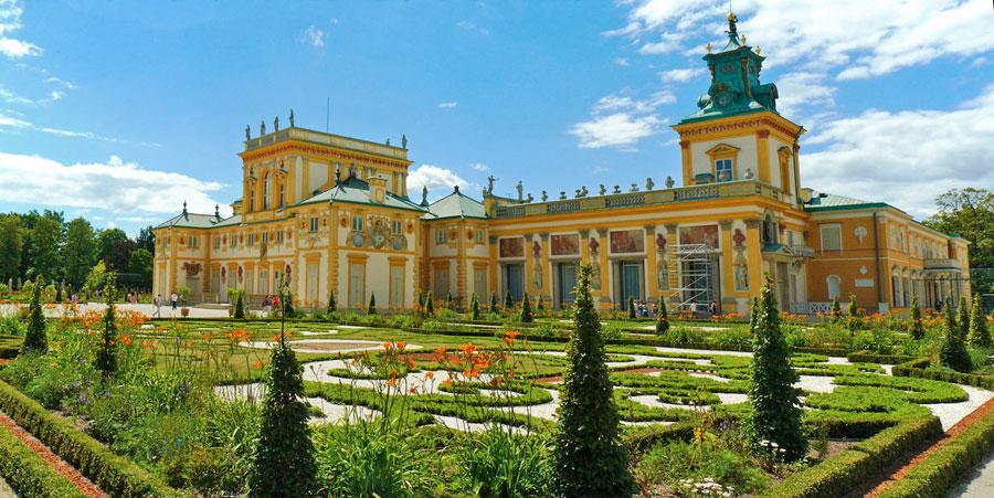 ארמון וילאנוב ורשה 2018